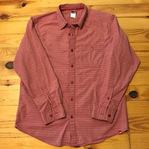 The North Face Red Plaid Button Down Shirt